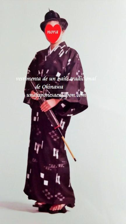 Vestimenta de un baile tradicional de Okinawa – ???????