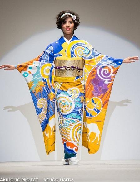 olimpiadas 2020 tokyo japon kimono project chad