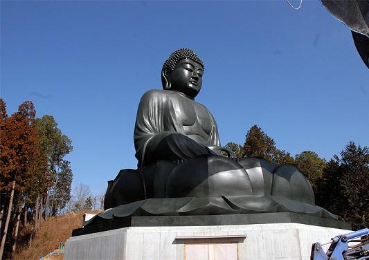 Nuevo buda sentado de Japn rokuya daibutsu kansei